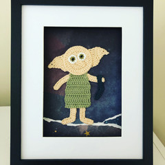 Crochet Dobby frame 22.5x27cm