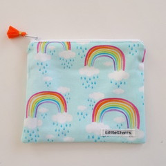 Zipper Pouch - Rainbow Bright