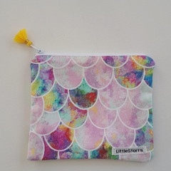 Zipper Pouch - Mermaid Tails