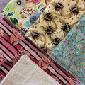 Piggys and Bees kitchen cloths 4 pack