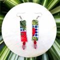 Strawberries Dangle Earrings