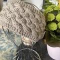 Women's headband, Ear warmers, hand knitted wool woven ear warmers