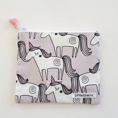 Zipper Pouch - Unicorn Parade