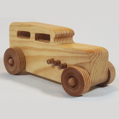 Sedan - Hot Rods - Handcrafted Wooden Toy Car