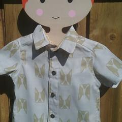 French Bulldog boys shirt- custom orders sizes 0000 to 5