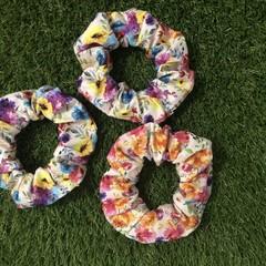 Floral Hair Scrunchie