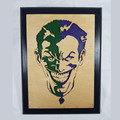 Joker #1 - Super Villains - Wooden Hanging Artwork
