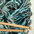 Australian wool hand knittedscarf