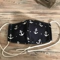 Cotton Face Mask 3 Layers  *Anchors*