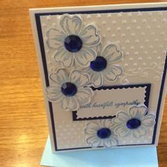 Sympathy card. Non traditional