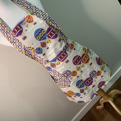 Hot Air balloon low waisted Retro vintage style apron Free Postage