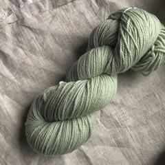 'Limestone ' 5ply hand dyed superfine merino yarn
