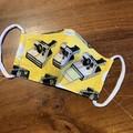 Non-surgical face mask yellow Polaroid