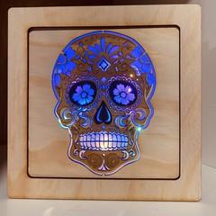 Sugar Skull LED Light