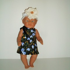 Dolls clothes  pillowcase style for Miniland and Baby Born doll