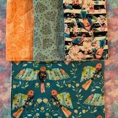 Birds 4 pack kitchen cloths