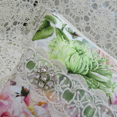 Ladies Clutch - Evening, Day, Wedding, Race Day, Garden Party - Pink Roses