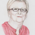 Portrait A5 COLOUR custom drawing from your photo of child family Mother's day