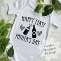 First Father's Day Onsies