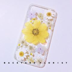 Handmade phone case/ pressed flower phone case/ pressed fruit phone case