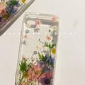Handmade phone case/ pressed flower phone case/ preserved flower phone case