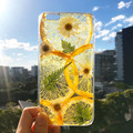 Handmade phone case/ pressed flower phone case/ pressed fruit phone case/