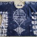 White/ Navy Khadi Cotton Top XMas Gift for Her