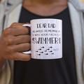Fathers Day Dad Birthday Funny Ceramic Personalised Coffee Tea Mug - CM047