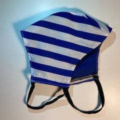 Blue Stripes - Protective 3 layered Face Mask  - Buy 3 get 1 Free
