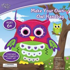Make Your Own Owl Handbag Kit