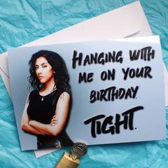 Brooklyn Nine Nine Rosa Diaz funny birthday card
