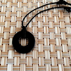 Black Onyx Gemstone Pendant Necklace