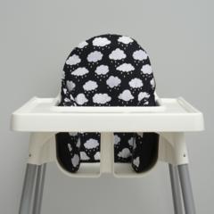 Rain Cloud IKEA High Chair Cushion Cover