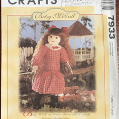 Betsy McCall | McCalls 7933 - Doll Pattern