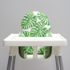 Monstera Leaf IKEA High Chair Cushion Cover