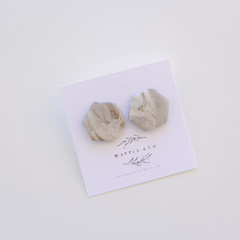 Statement Earring '50 shades of grey' Collection