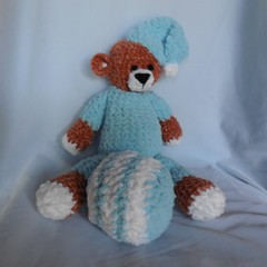 Teddy Bear/Amigurumi Style+ Ball Soft Toys