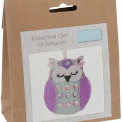 Felt Spring Owl