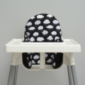 Rain Cloud IKEA High Chair Cushion Cover