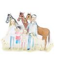 WATERCOLOUR FAMILY PORTRAIT
