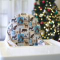 Woodland Christmas IKEA High Chair Cushion Cover