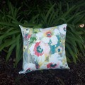 WATERCOLOUR FLORAL OUTDOOR CUSHION COVERS 50 CM X 50CM