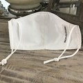 Face Mask 3 Layers *White* washable Australia made with filter pocket