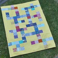 Scrabble Squares Quilt Pattern | Digital Version