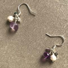 Fluorite Small Earring