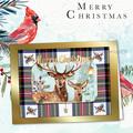 Christmas Reindeer Tartan 2
