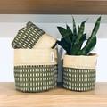Planter Sacks (medium) green