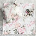 Personalised Baby Gift Throw Blanket Keepsake Cushion Cover