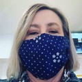 COTTON FACE MASK - 4 LAYERS - BREATHABLE & WASHABLE -  ADULT SIZE