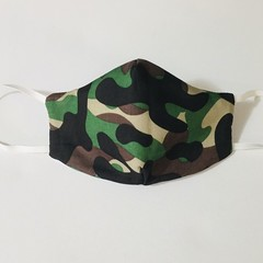 READY TO POST 3 layer Mask Camo Face Cover Reusable Cloth Mask